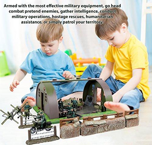 Click N Play Mega Military Army Base Barrack Command