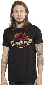 Camiseta Jurassic Park Logo Oficial Masculina
