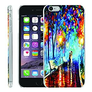 [ManiaGear] [SLIGHT] Thin Clip On Image Shell Cover Hard Case (Fall In Love) for Iphone 6 PLUS (5.5)