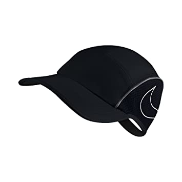 Nike W Nk Arobill Run Aw84 Gorra, Mujer, Negro (Black/Anthracite/White), Talla Única: Amazon.es: Deportes y aire libre