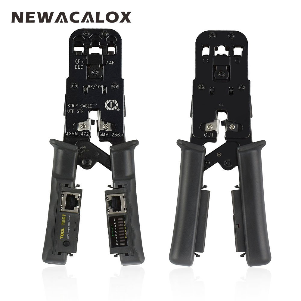 Newacalox 4In1 Network Crimping Tool Multifunction Pliers Stripping ...
