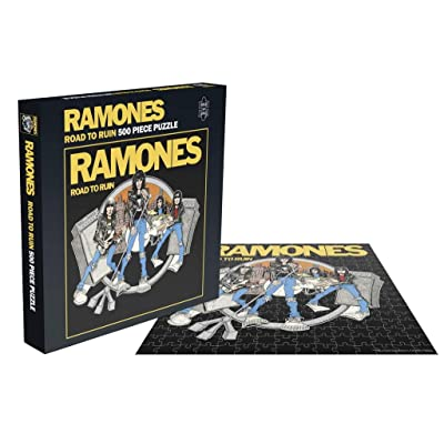 The Ramones Road to Ruin 500 Piece Jigsaw Puzzle: Toys & Games