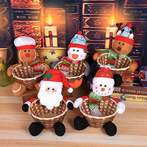 Navidad Chucherías cesta Cajas Estantería Cestas Cestas de chimenea madera bolso cesta de fieltro para leña de chimenea madera cesta - Soporte para ...