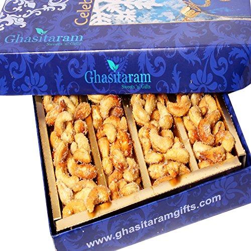 Ghasitarams Dryfruits Honey Coated Roasted Cashews 250 gms