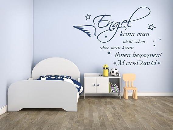 Wandtattoos Wandbilder Wandtattoo Junge Name Baby Junge Name Engel Kann Nicht Sehen Pkm391na Mobel Wohnen Blowmind Com Br