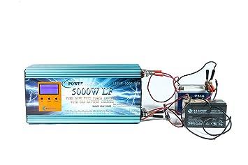 wccsolar.es Inversor Onda Pura 5000w Pico 10000w 12V con ...