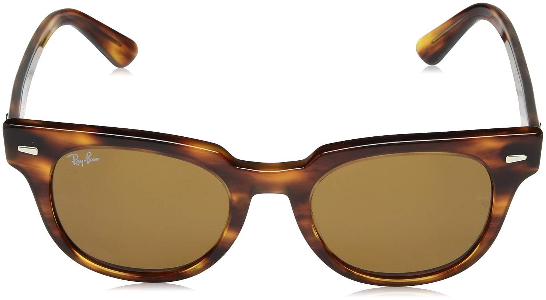 Amazon.com: Ray-Ban RB2168 Meteor Evolve Square Sunglasses ...