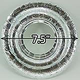 20 UNIVERSAL Round Aluminum Foil Gas Burner Bib
