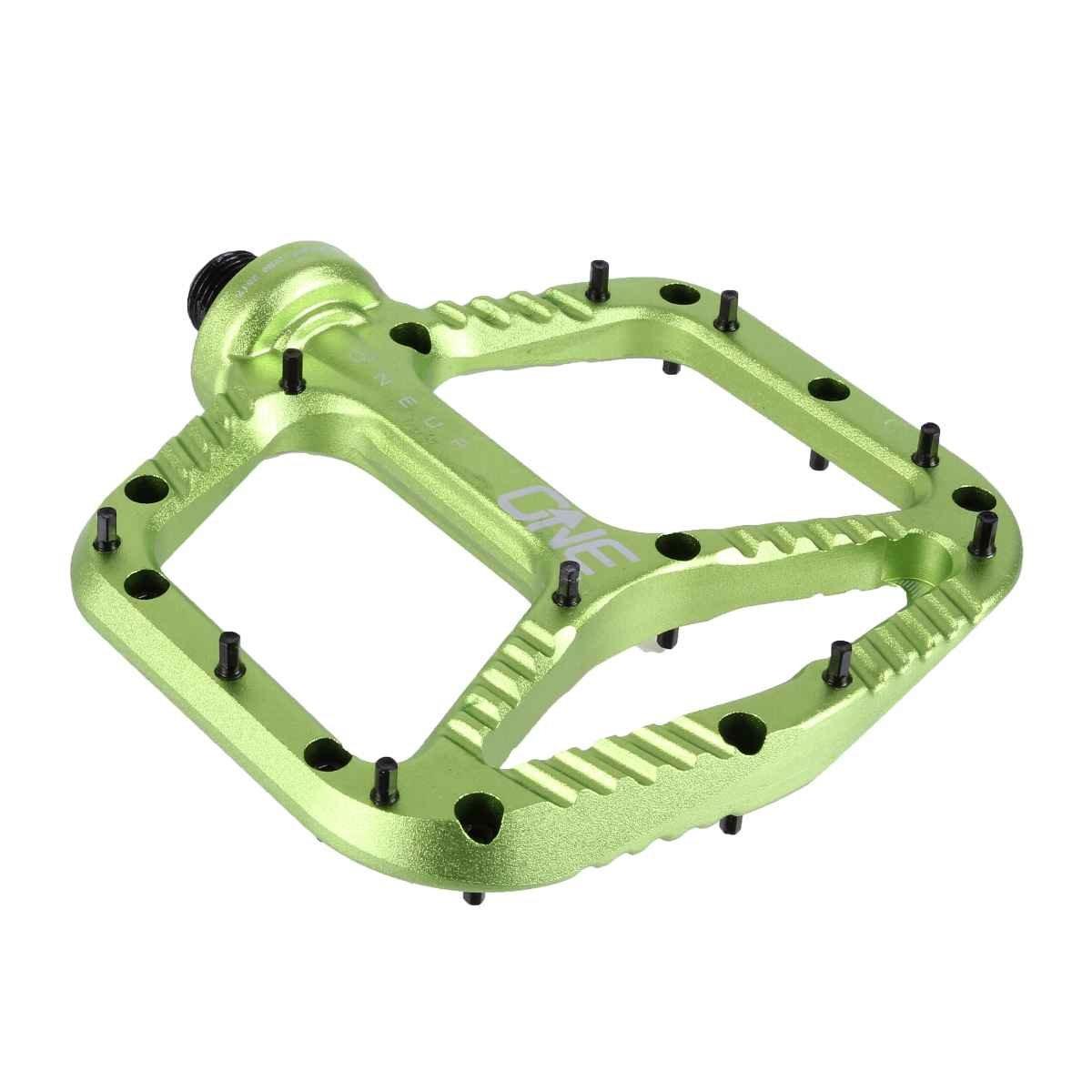 OneUpコンポーネントアルミニウムペダル B073ZLM8K7 One Size|グリーン グリーン One Size
