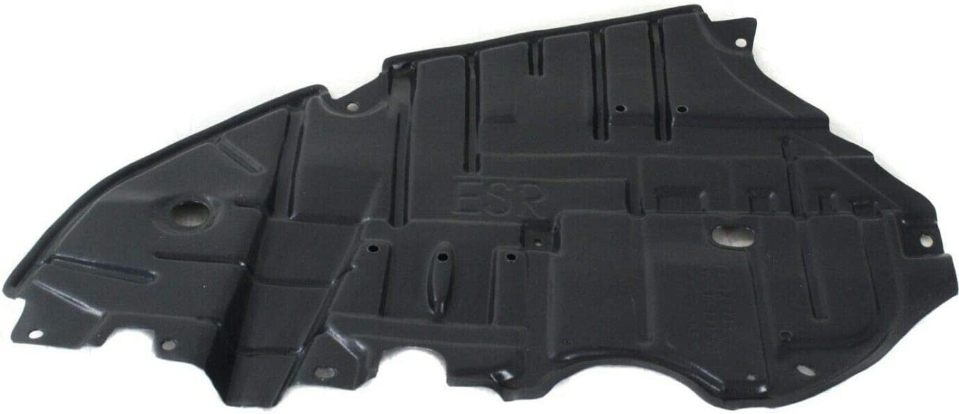 LX1228138 LX1228137 Make Auto Parts Manufacturing Set of 2 Driver Left /& Passenger Right Side Undercar Engine Splash Shields for Lexus ES350 ES300h 2013 2014 2015