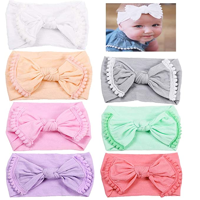 Amazon.com  NEW 5 Pack Wide Band Velvet Headband for Baby 396b8ef1e2d