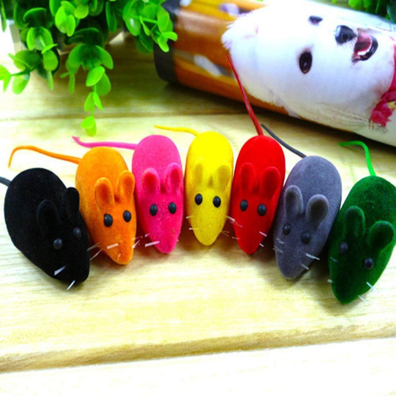 giocattolo per gatti e gatti colore casuale giocattolo per animali domestici Giocattolo divertente per gatti YUIO