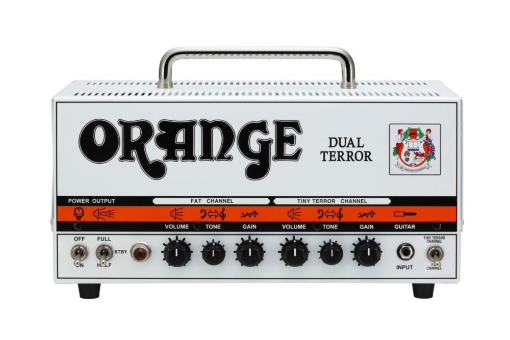 Orange Dual Terror 30/15/7W 2-Channel Tube Head