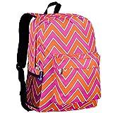 Wildkin Zigzag Crackerjack Backpack, Pink