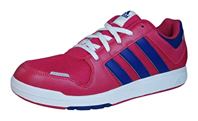 adidas Unisex-Kinder LK Trainer 6 Sneaker, Pink/Dunkelviolett, 37 1/3 EU