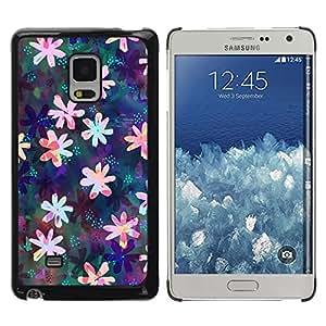 Be Good Phone Accessory // Dura Cáscara cubierta Protectora Caso Carcasa Funda de Protección para Samsung Galaxy Mega 5.8 9150 9152 // Floral Drawing Iridescent Feminine