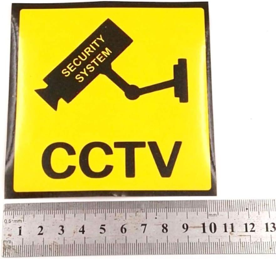 Amazon.com: Adhesivo de vigilancia de vídeo – 10 unidades ...