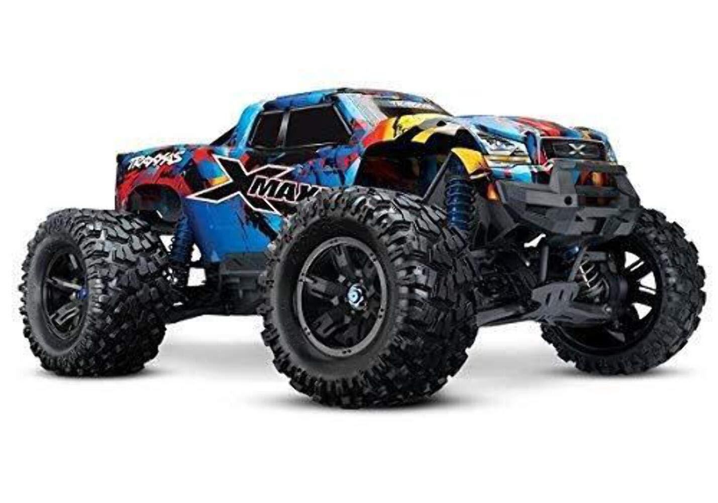 Buy Traxxas X Maxx Brushless Electric Monster Truck With Tqi Link Enabled 2 4ghz Radio System Traxxas Stability Management Tsm Online At Low Prices In India Amazon In