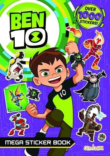 (Ben 10 Mega Sticker Book)