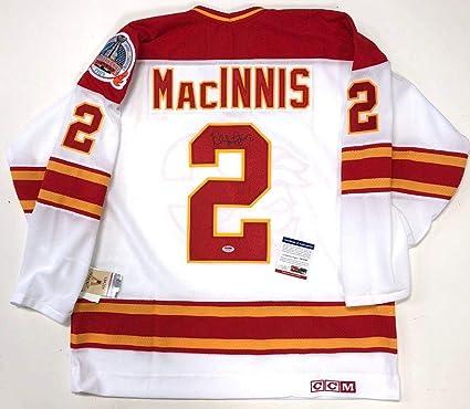sports shoes d1925 a3eec Al MacInnis Signed Jersey - 1989 Stanley Cup Ccm Vintage Coa ...