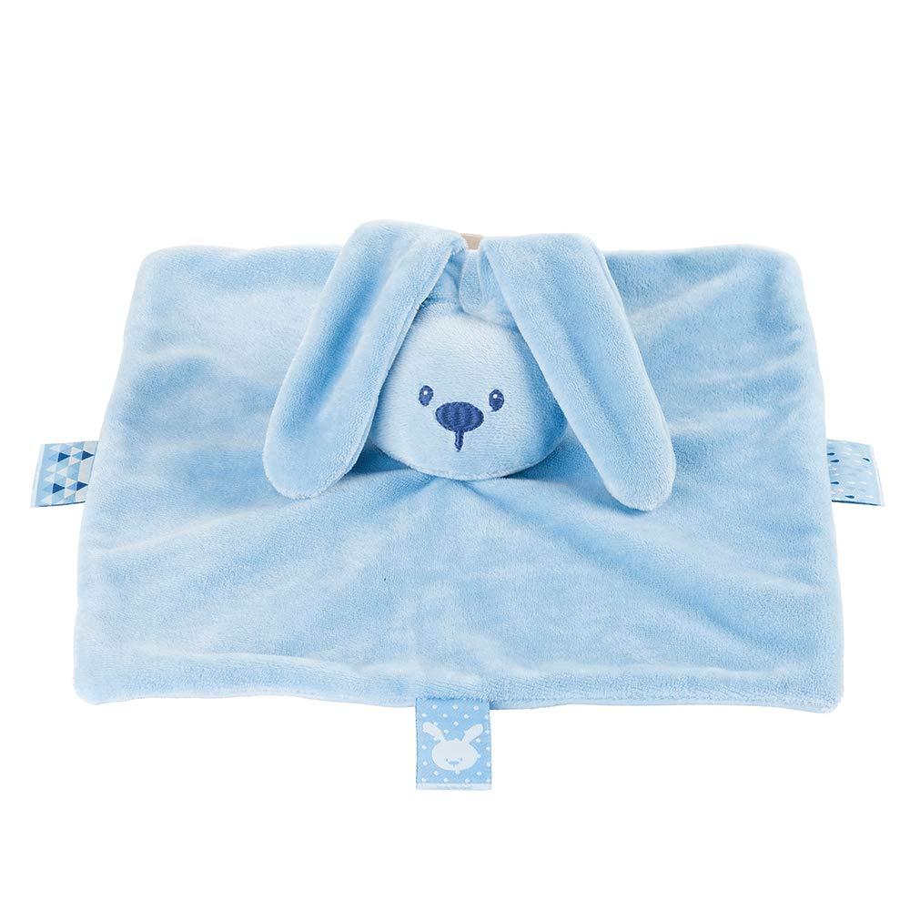 Nattou Schnuffeltuch Hase Lapidou Wegbegleiter ab der Geburt Blau 26 x 26 cm