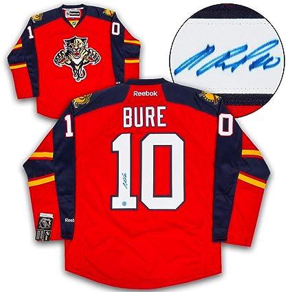 Pavel Bure Florida Panthers Autographed Autograph Reebok Premier ... f0b894250ff
