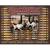 "Remington Bullet Board Tin Sign 12.5"" X 16"" , 16x12"