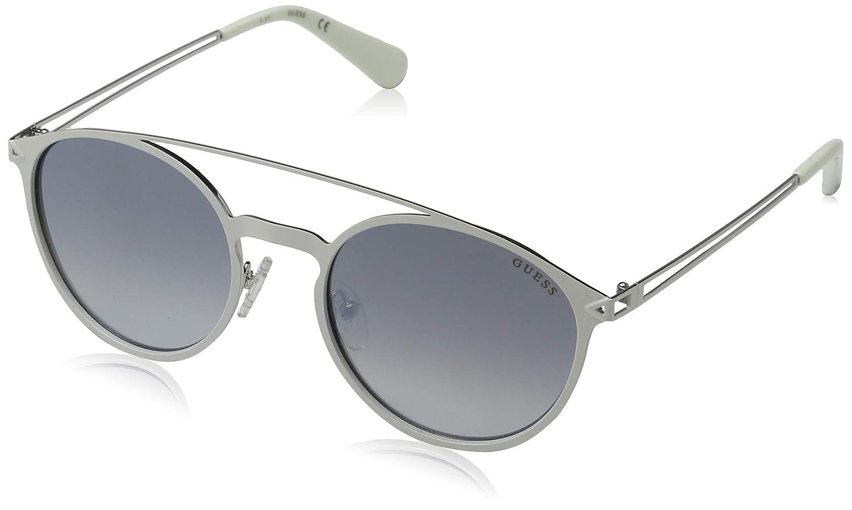 Amazon.com: Guess Hombre Redondo top-bar anteojos de sol, NS ...