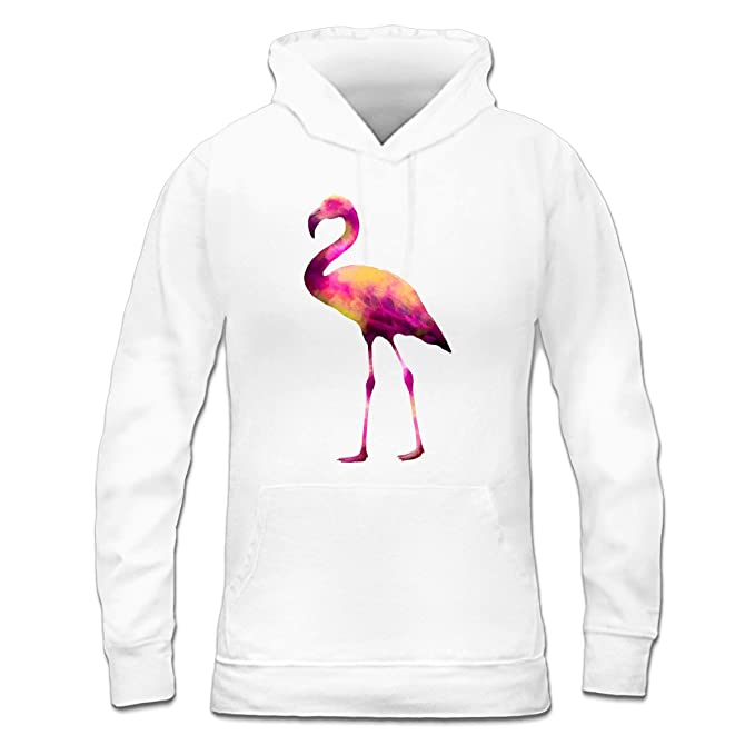 Sudadera con capucha de mujer Pink Flamingo by Shirtcity: Amazon.es: Ropa y accesorios