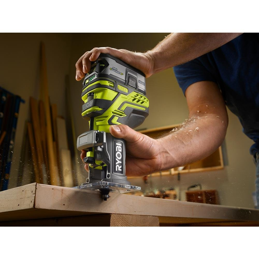Ryobi ONE+ Trim Router (Bare-Tool) (Certified Refurbished) by Ryobi (Image #4)