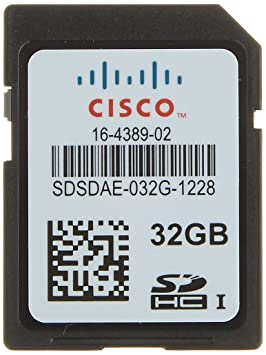Cisco 32GB SD Memoria Flash - Tarjeta de Memoria (32 GB, SD ...