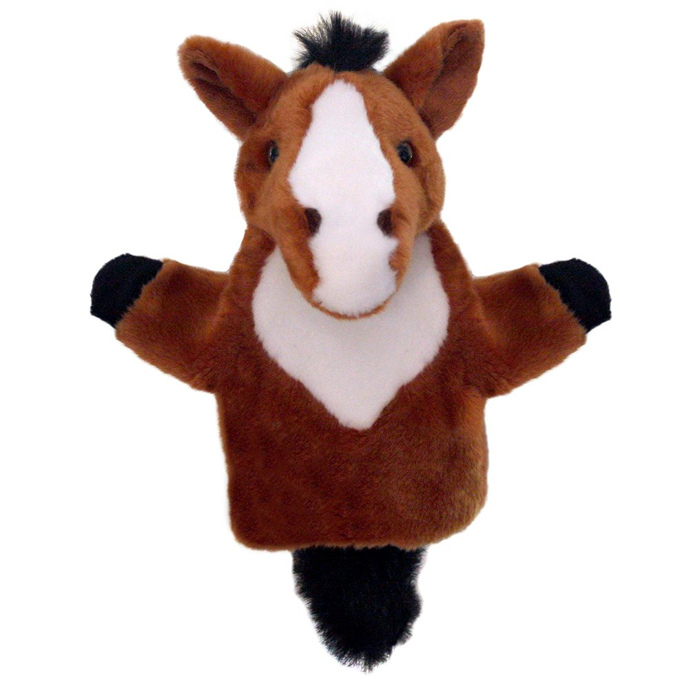 Pferd braun Carpets Handpuppen The Puppet Company