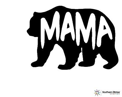 Amazon com: Bear Mama Text 5 4x3 7 inches Size Family United