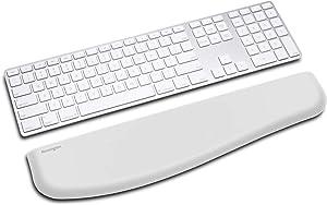 Kensington ErgoSoft Wrist Rest for Slim Keyboard-Gray, Model: K50434WW