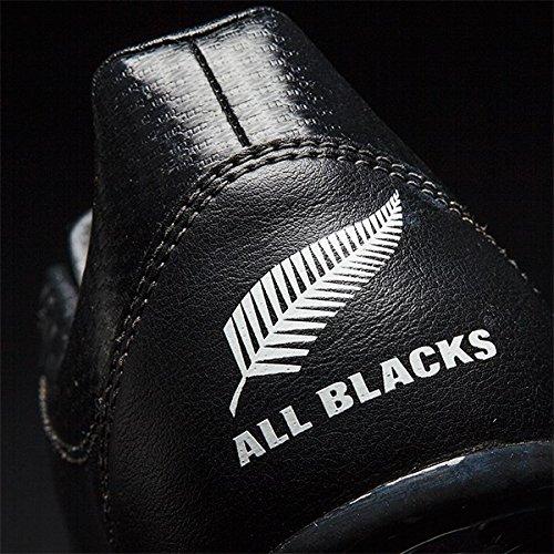 adidas Unisex-Kinder All Blacks J SG Rugbyschuhe, Schwarz (Negbas/Ftwbla/Neguti), 38 EU