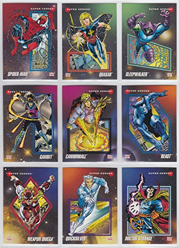 - 1992 Marvel Universe Series III Base Set of 200 Cards NM/M Spider-Man, X-Men