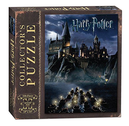 USAOPOLY World of Harry Potter 550Piece Jigsaw Puzzle | Art from Harry Potter & The Sorcerer's Stone Movie | Official Harry Potter Merchandise | Collectible - Figure Potter Inch 18 Harry