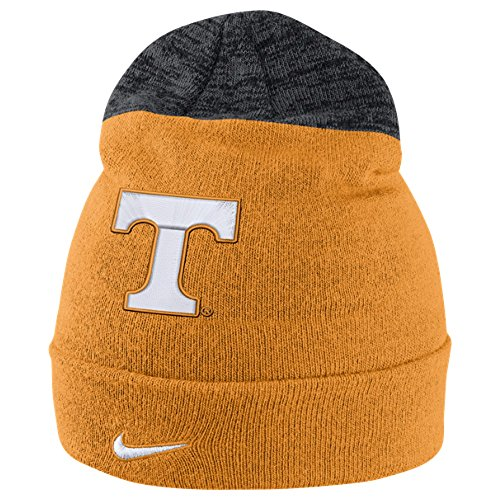 Nike Ribbed Beanie - Nike Tennessee Volunteers Collegiate Sideline Knit Cap Orange Beanie