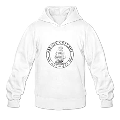 Amazon com: Babson College Seal Retro 100% Cotton White Long