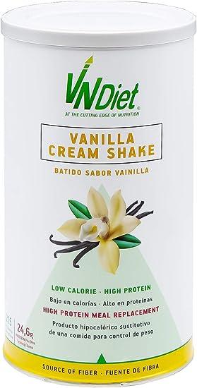 VNDiet - Batido Sustitutivo de Comida para Dieta | Batido para Adelgazar con Proteínas, Reemplazo Comida, Muy Saciante, Bebida Dietética para ...