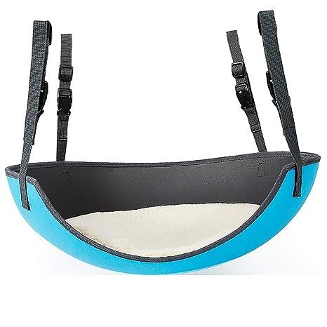 ... Hamaca de Seguridad EVA Cama elíptica para Gatos Silla Colgante de Jaula de Hierro Cat Cama Colgante (Color : Blue): Amazon.es: Productos para mascotas