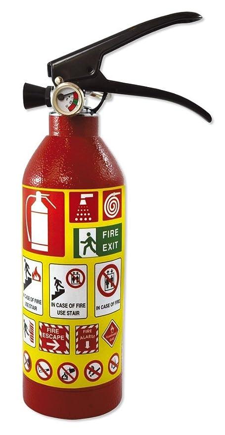 Escondite Diversion extintor - Hucha caja fuerte color rojo ...