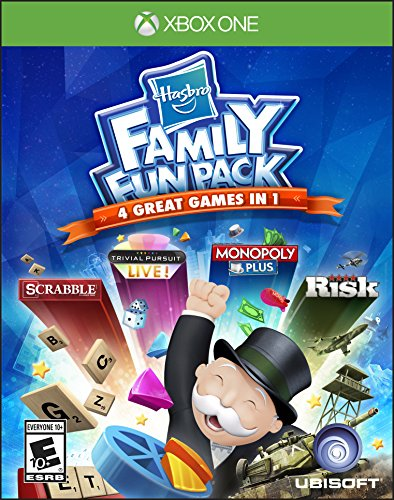 Hasbro Family Fun Pack - Xbox One Standard Edition (Xbox 360 Jeopardy Game)