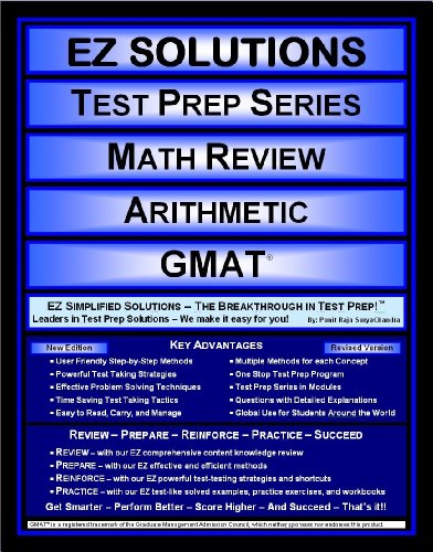 EZ Solutions - Test Prep Series - Math Review - Arithmetic - GMAT (Edition: Updated. Version: Revised. 2015)