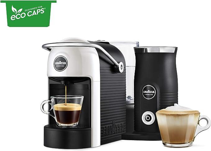 Lavazza A Modo Mio Jolie & Máquina de café con leche, con ...
