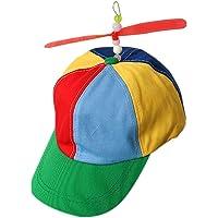 JIUZHOU Best Online Toy Shop elica cap Cappello Elicottero Arcobaleno Tweedle Pride Party Kuso Fancy Dress Nerd