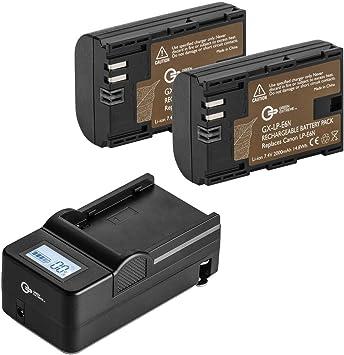 Batería Alimentación Cargador De Pared Ac 100V-240V Para Canon LP-E6 LP-E6N EOS 6D 5D Mark II