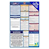 2018 Colorado Labor Law Poster – State, Federal, OSHA Compliant – Laminated Mandatory All in One Poster