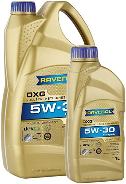 6 5 1 Liter Ravenol Dxg Sae 5w 30 Motoröl Made In Germany Auto