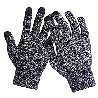 Amazon.com : Women and Men Knitted Gloves Touch Screen